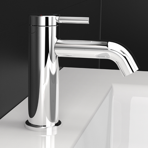 Single-lever washbasin faucet